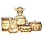 Мёд в липовых сувенирах