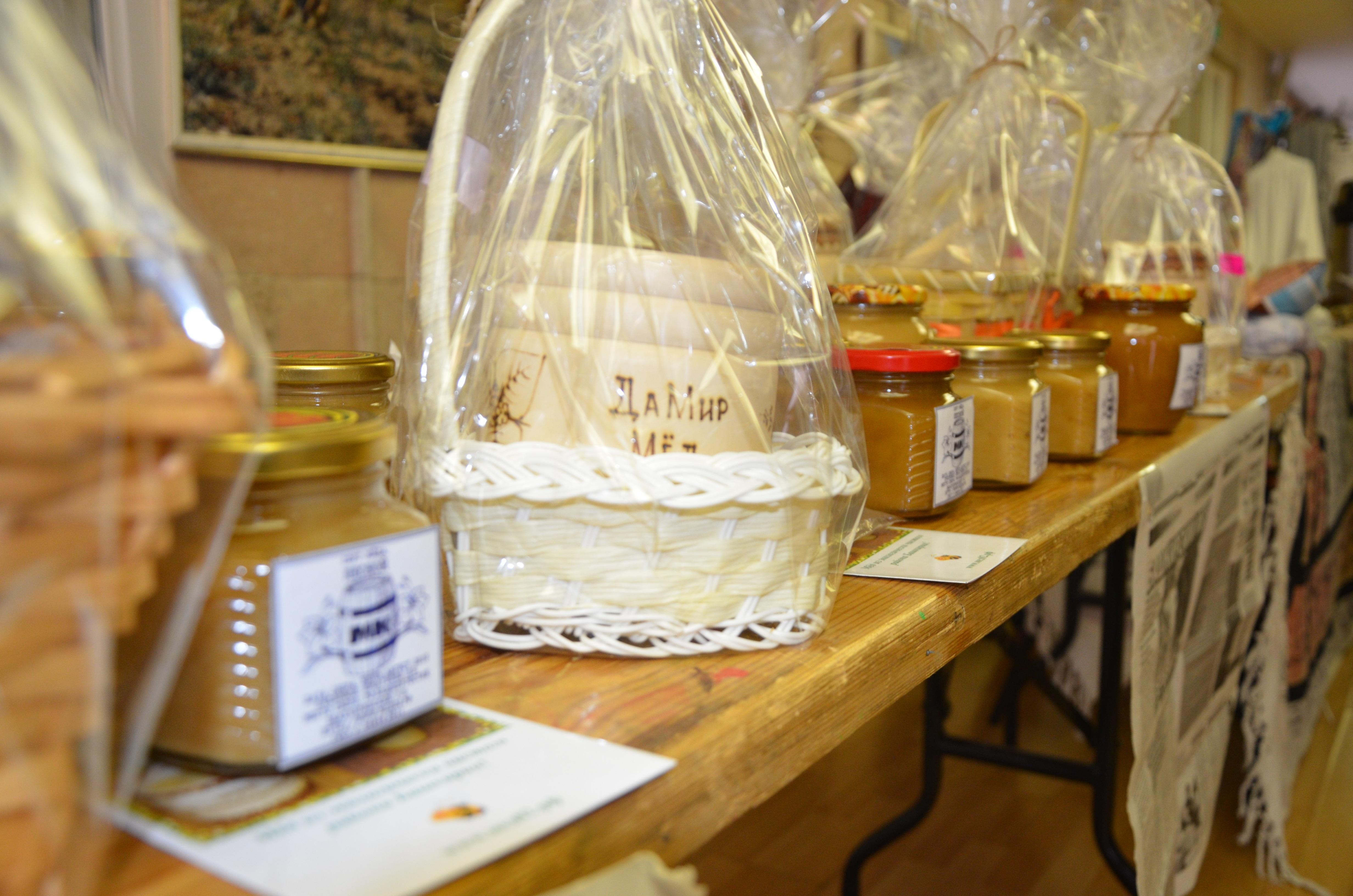 Купить башкирский мёд